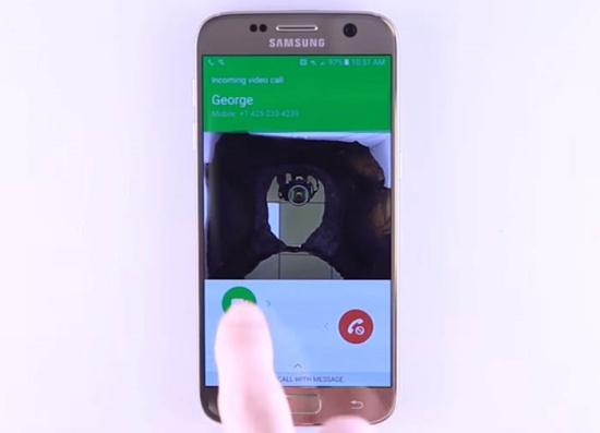 Samsung S7 Edge mat song