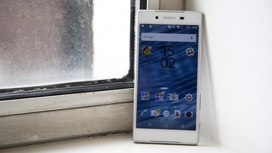Sony Z5 khong len man hinh