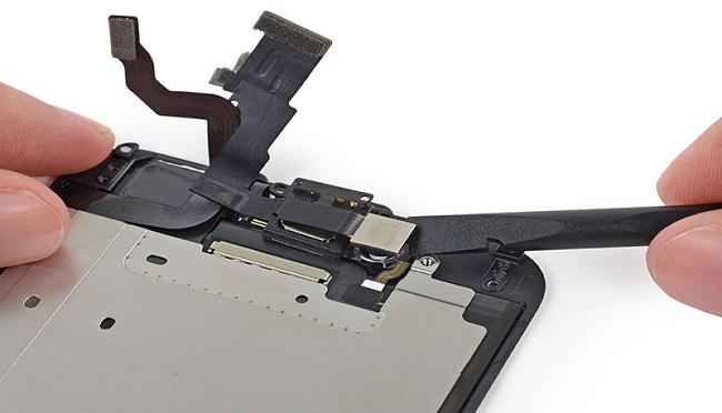 camera iPhone 7 Plus bị giật
