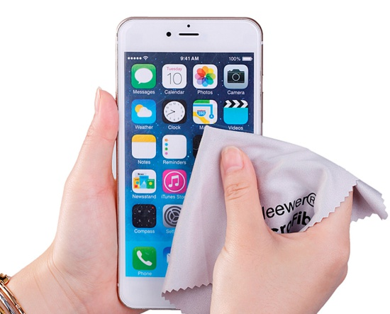 camera truoc iPhone 7 Plus bi mo