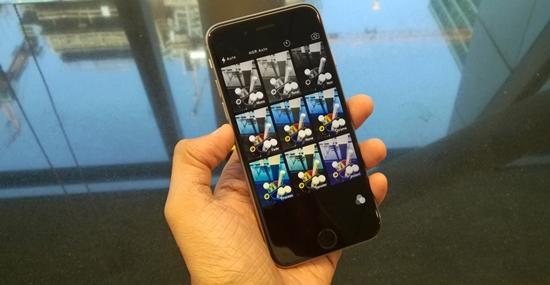 iPhone 6 hu camera sau