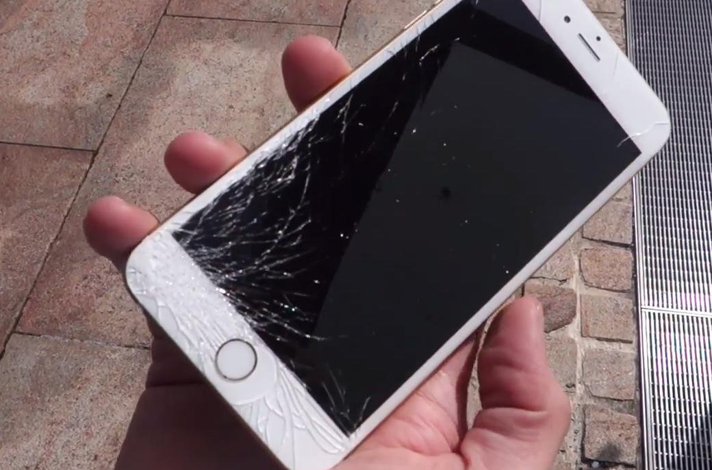 camera trước iPhone 6 Plus bị nhiễu