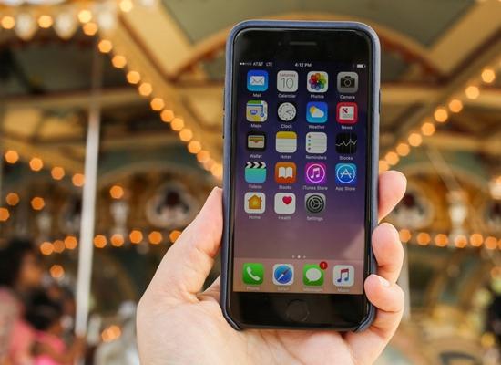 iPhone 7 khong len man hinh