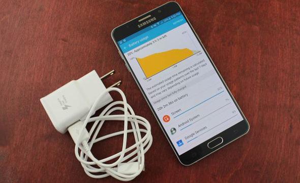 Samsung Note 5 không nhận sạc