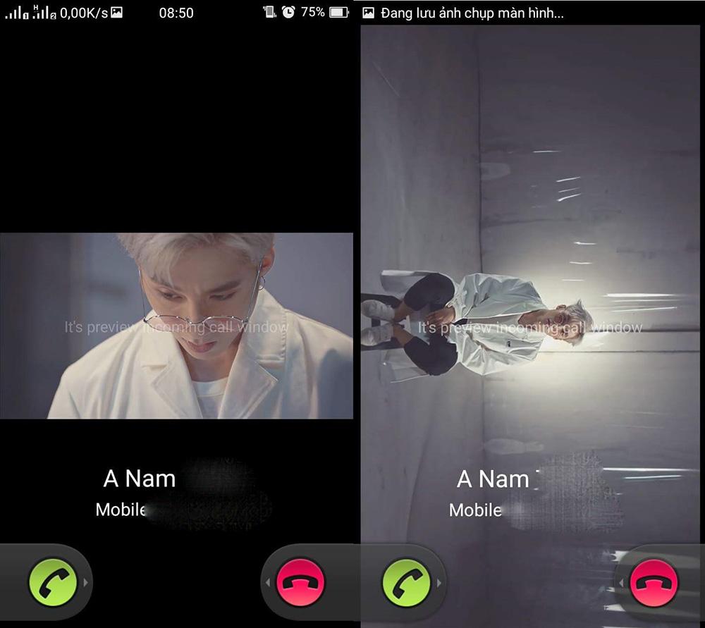 tạo video làm nhạc chuông cuộc gọi đến trên Android