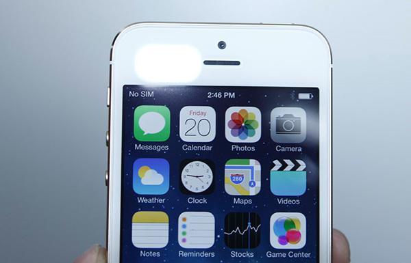 Thay camera truoc iPhone 5s gia re