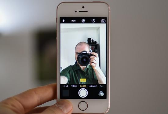 thay camera truoc iPhone SE