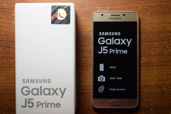 Samsung J5 Prime bi loan cam ung