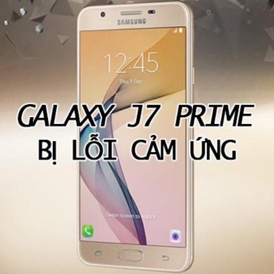 Samsung J7 Prime bi be man hinh