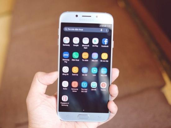 Samsung J7 Pro bị nóng máy