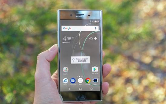 Sony XZ Premium bi do man hinh