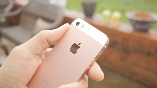 Camera iPhone SE bi mo