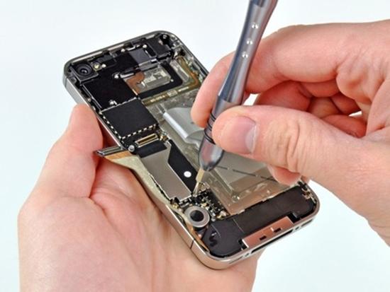 iPhone 5 hu camera truoc