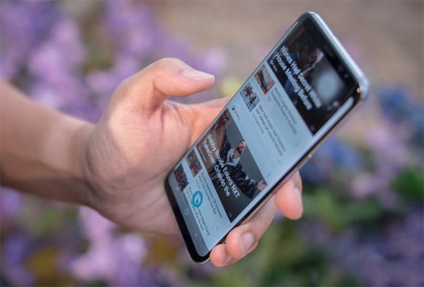 Khắc phục Samsung S8, S8 Plus bị lỗi cảm ứng