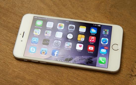 Man hinh iPhone 7 bi mo