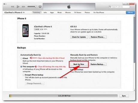 Khắc phục iPhone 6 Plus bị treo táo
