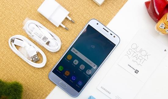 Samsung J3 Pro bi mo man hinh