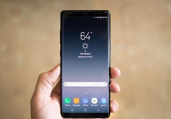 Thay mat kinh Samsung Note 8
