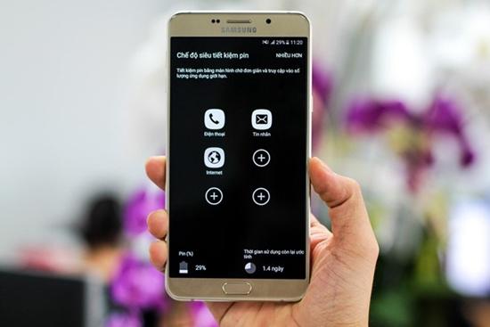 Samsung A9 Pro bi loi cam ung
