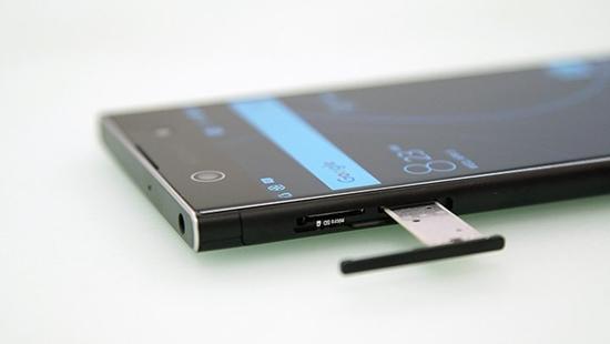 Sony XA1 Ultra bi loi cam ung