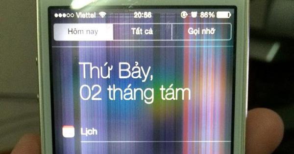 Samsung J5 Prime bị sọc màn hình