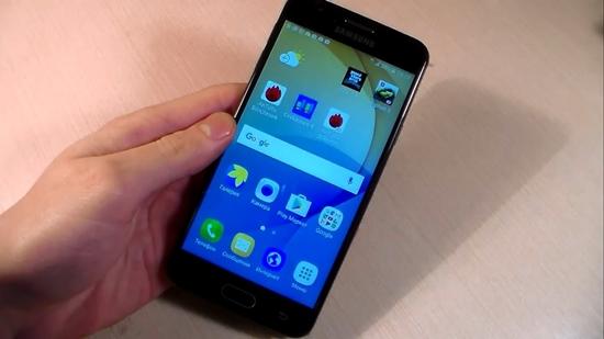 Samsung J5 Prime bi liet cam ung vai diem