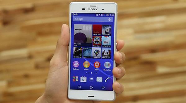Sony Z3 chết cảm ứng