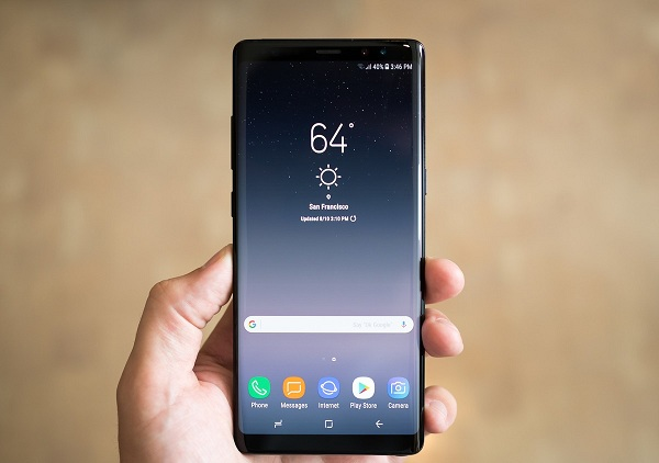 sua Samsung Note 8 bi do man hinh