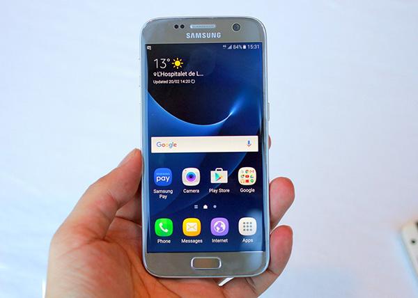 Khắc phục Samsung S7 bị giật màn hình