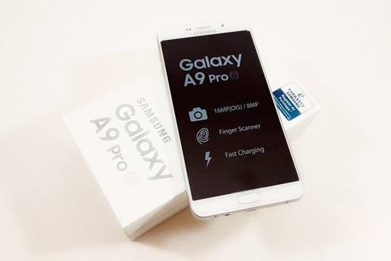 Samsung A9 Pro bi den man hinh