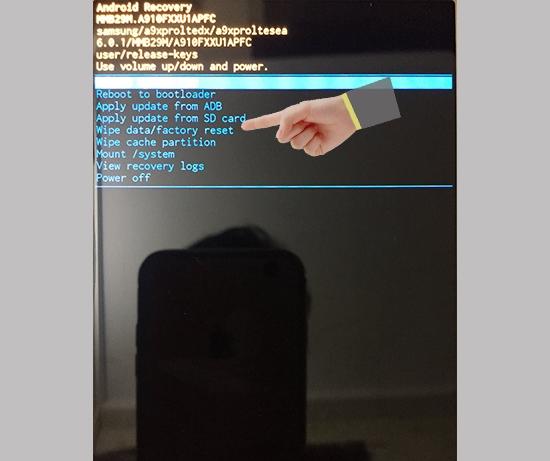 Samsung A3 đen màn hình