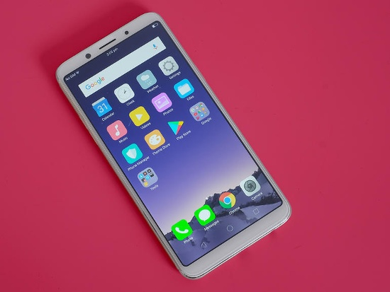 Oppo F5 hao pin nhanh