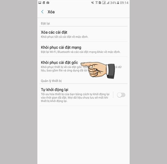 Samsung A7 2017 do man hinh