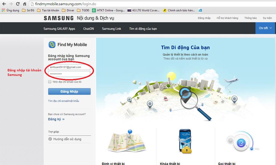 cai dinh vi cho Samsung J7 Prime