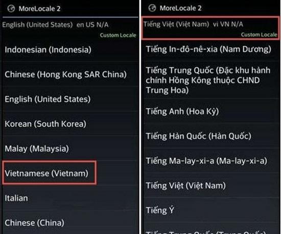 cai Tieng Viet cho Android khong can root
