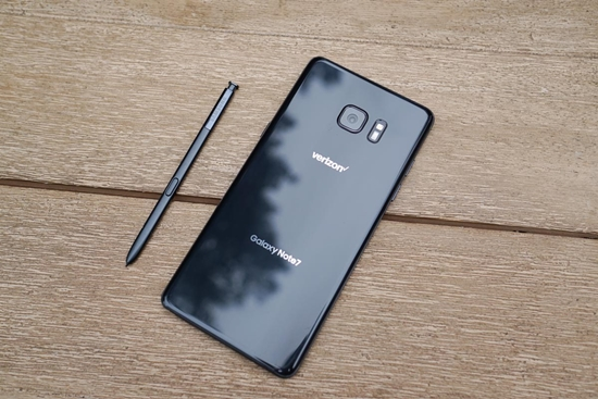 Samsung Note FE hao pin nhanh