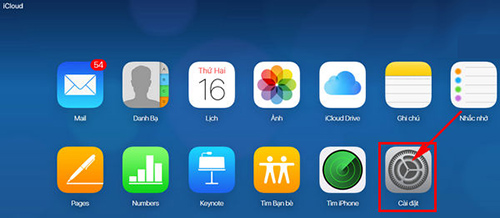 Khôi phục danh bạ trên iPhone với iCloud