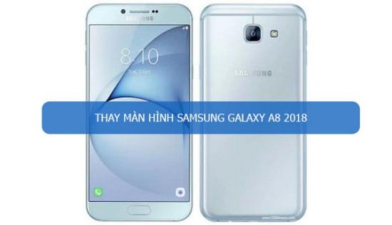 Samsung A8 2018 bi do man hinh