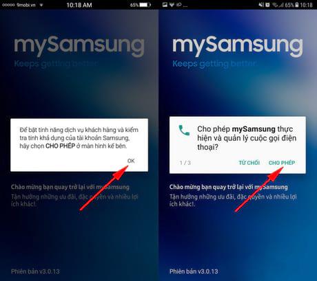 Cách check bảo hành Samsung