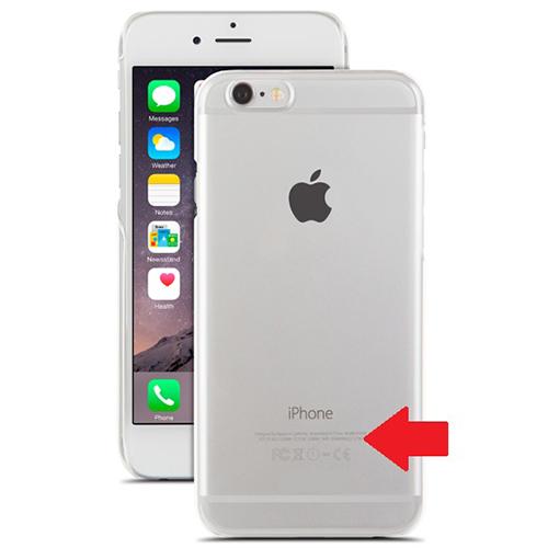 Kiểm tra IMEI iPhone trên vỏ máy