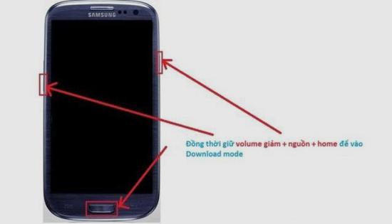 Cách chạy lại phần mềm điện thoại Samsung