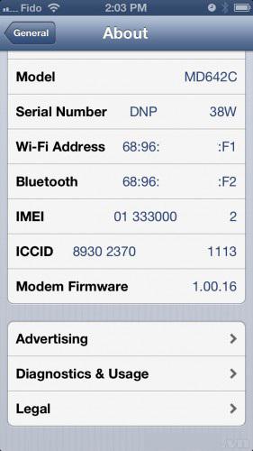 Kiểm tra IMEI iPhone