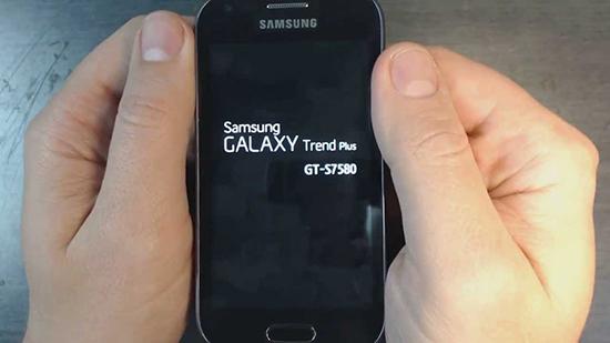 Chạy lại phần mềm điện thoại Samsung