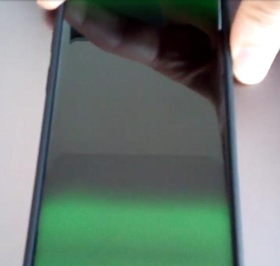 Lỗi màn hình xanh trên Samsung S9