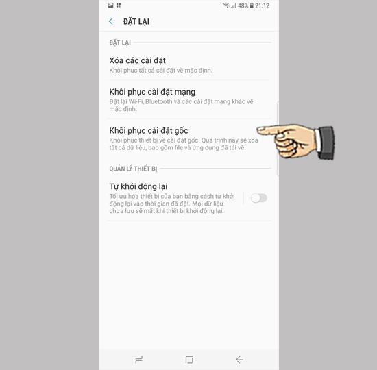 Samsung S9 bi loan cam ung