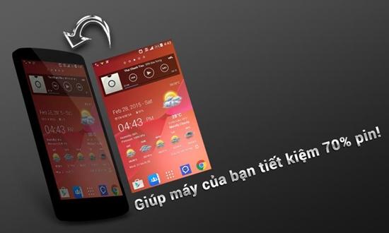 ung dung mo khoa man hinh Samsung
