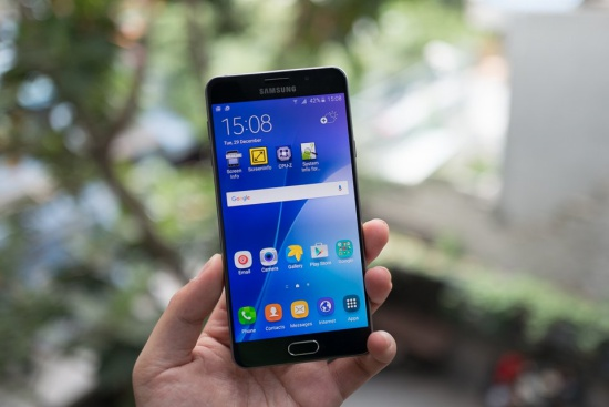 Man hinh Samsung A7 2016 bi nhap nhay