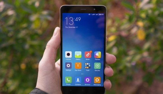 Xiaomi Redmi Note 3 bi treo logo