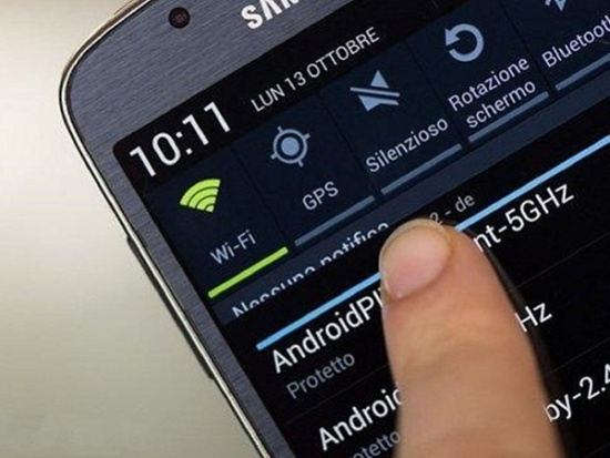 dien thoai Samsung khong ket noi duoc Wifi