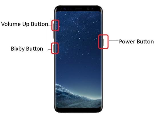 quen mat khau Samsung S8 Plus